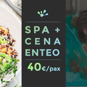 spa + cena enteo